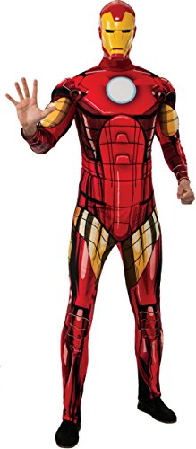 Iron Man Costumes Adults (Rubie's Costume Men's Marvel Universe Better Adult Iron Man Costume, Multi, X-Large)