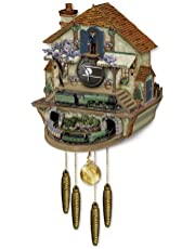 Steam Engine Train Cuckoo Clock: The Flying Scotsman Memories of Steam by The Bradford Exchange