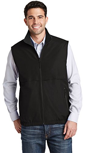 - Port Authority Men's Reversible Charger Vest_True Black_XL