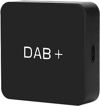 Ohok Dab/Dab + Caja Adaptador de Receptor,Adaptador de Elemento de Antena Digital Función de búsqueda Local RDS ...