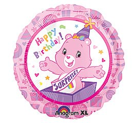 CARE BEARS HAPPY BIRTHDAY MYLAR BALLOON 18 INCH PARTY SUPPLIES by Anagram (Birthday Care)