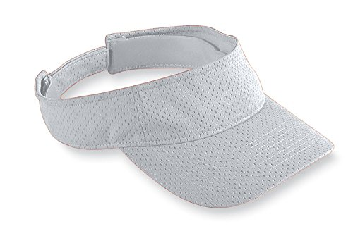 Augusta Athletic Wear - Augusta Sportswear Kids' Athletic MESH Visor OS Silver Grey