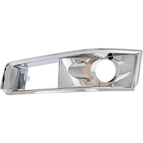 Fog Light Molding compatible with Cadillac CTS 08-13 Bezel W/HID Headlights Left Side