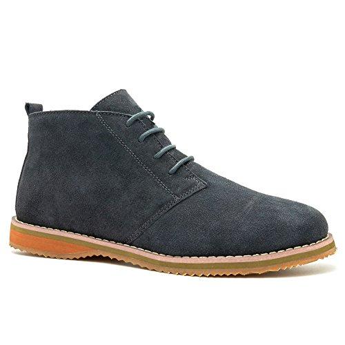 Grigio Grigio Grigio Footwear Stivali Uomo Boots London Desert 40 Grey fXqwfP
