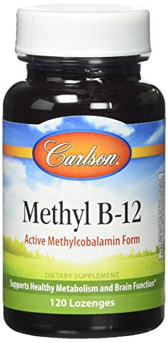 Carlson Vitamin B-12 (Carlson Labs Methyl B-12 Tablets, 120 Count)