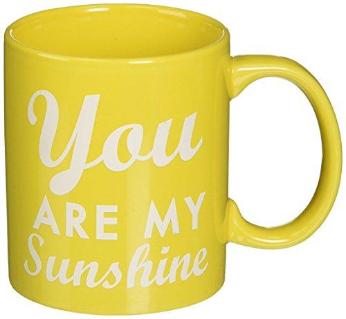 You Are My Sunshine 8 oz coffee mug- YELLOW
