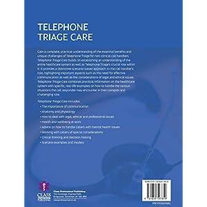 Telephone Triage Care Paperback – 31 Aug. 2018