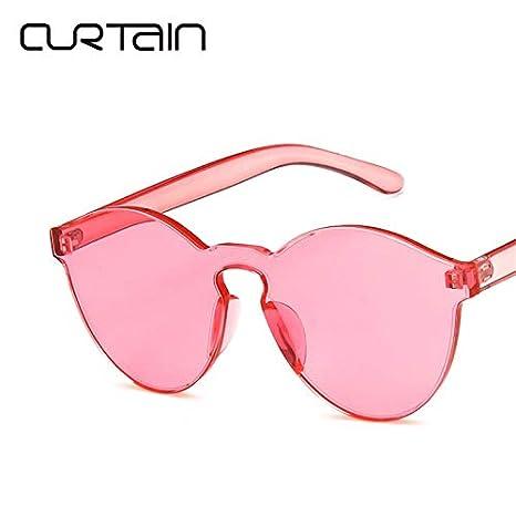 Amazon.com : AAMOUSE Sunglasses Summer Rimless Sunglasses ...