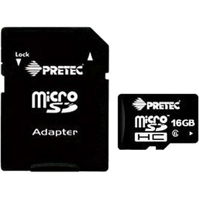 Amazon.com: Pretec – Tarjeta Micro SDHC 16 GB Clase 10 (HD ...