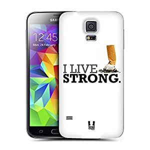 Head Case Designs Live Strong Various Advocacies Replacement Battery Back Cover for Samsung Galaxy S5