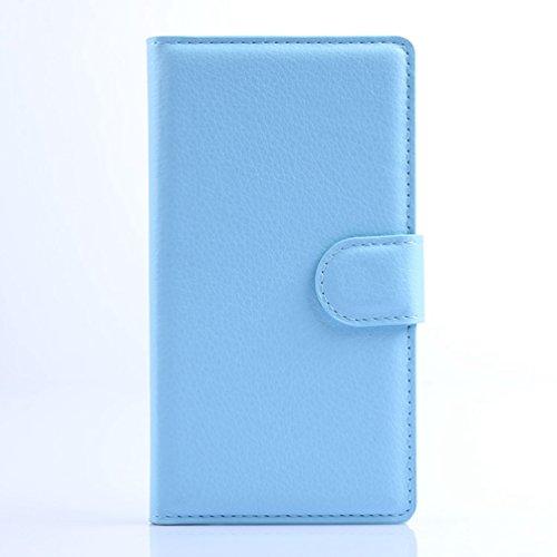 Funda Nokia lumia 925,Manyip Caja del teléfono del cuero,Protector de Pantalla de Slim Case Estilo Billetera con Ranuras para Tarjetas, Soporte Plegable, Cierre Magnético(JFC7-16) H