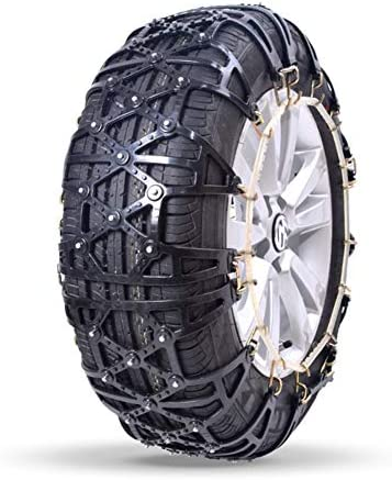 タイヤチェーン マウント緊急トラクションへの容易なポータブルタイヤのスノーチェーンアンチスキッド (Color : Black, Size : 225/70 R15)