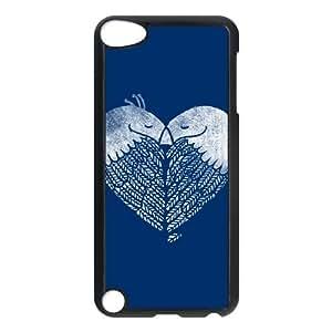 iPod Touch 5 Case Black Love Birds jgbz