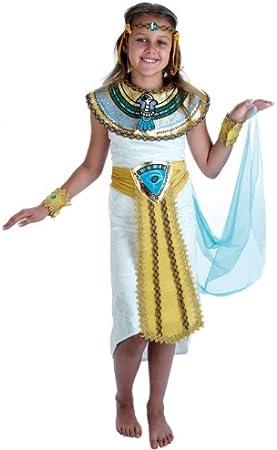 Egyptian - Disfraz de princesa egipcia infantil, talla M (G51183M ...