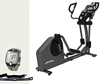 Life Fitness E3 Track Cross Trainer – Modelo 2017. Incluye FT1 Polar Pulso Reloj,