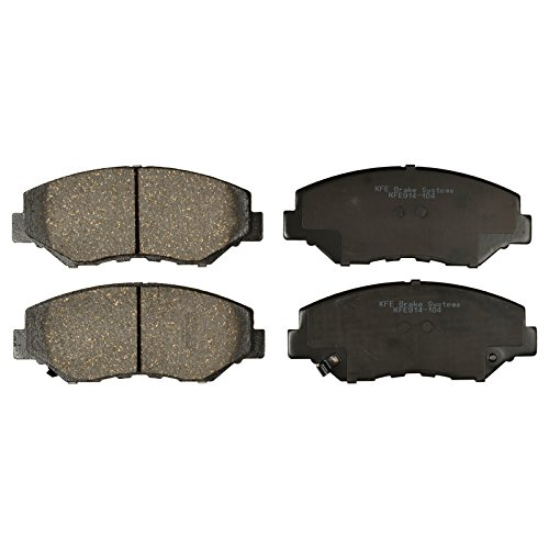 Brake Pad Shim Set - KFE Ultra Quiet Advanced KFE914-104 Premium Ceramic Front Brake Pad Set