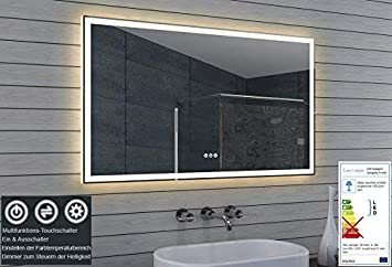 Lux Aqua Led Beleuchtung Badezimmerspiegel Kaltweiss Warmweiss Dimmbar