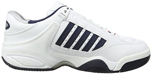 Dressblue Homme de K Chaussures Tennis Fieryred Swiss RS White White Blanc 164 Performance Defier ggx0P1qU