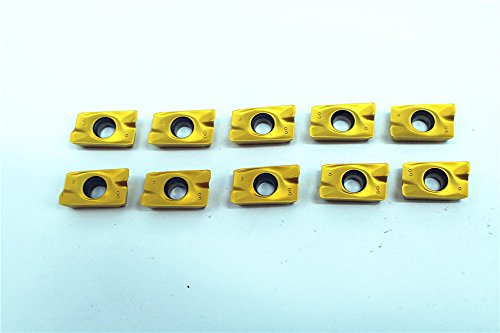 10pcs APKT1604PDER PM7811 Carbide Inserts For Lathe Milling Cutter Tool