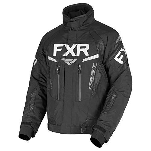 FXR Mens Team FX Jacket (Black, 3X-Large)