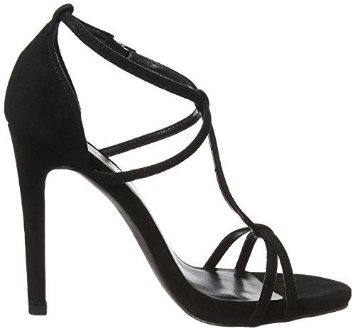 noir 1 Santonio Look t pour noir New bar femmes sandales xz04wWqag