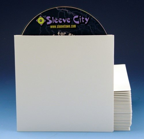 Sleeve City Paperboard CD/DVD Sleeve (25 (Paperboard Cd)