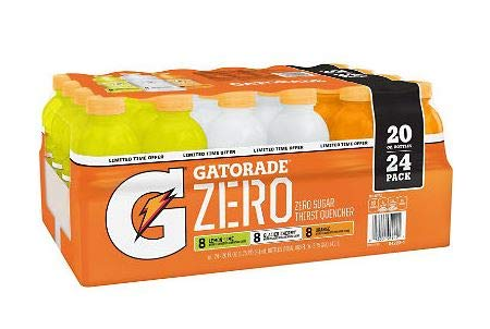 Gatorade Zero Thirst Quencher Variety Pack (20 oz,
