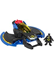Fisher-Price Imaginext DC Super Friends Batwing, Toy Plane and Batman Figure for Preschool Kids Ages 3 Years & Up