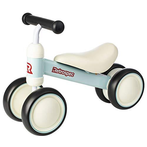 Retrospec Cricket Baby Walker Balance bike with 4 Wheels