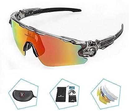 Polarisé Cyclisme Lunettes de Soleil Sports de plein air Vélo Lunettes De Vélo Lunettes Eyewear