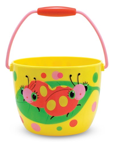 Melissa & Doug Sunny Patch Mollie and Bollie Ladybug Pail - Outdoor Toy for Kids