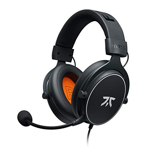 🥇 Fnatic REACT Auriculares para Videojuegos para PS4/PC con 53mm Drivers