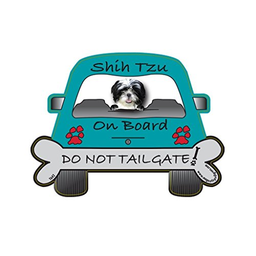 - Shih-Tzu Tailgate Custom Shaped Magnet