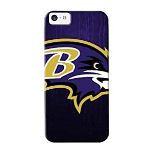 Diycase Anti-scratch case cover QueenVictory protective Baltimore Ravens Logo Nfl case cover 5Q34zVdM2TL For Iphone 5c