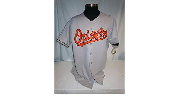 10b941c0d Baltimore Orioles Authentic Majestic Road Jersey w Jim McKay Memorial  Armband at Amazon s Sports Collectibles Store