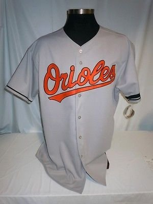 77b63bcb5 Image Unavailable. Image not available for. Color  Baltimore Orioles  Authentic Majestic Road Jersey w Jim McKay Memorial Armband