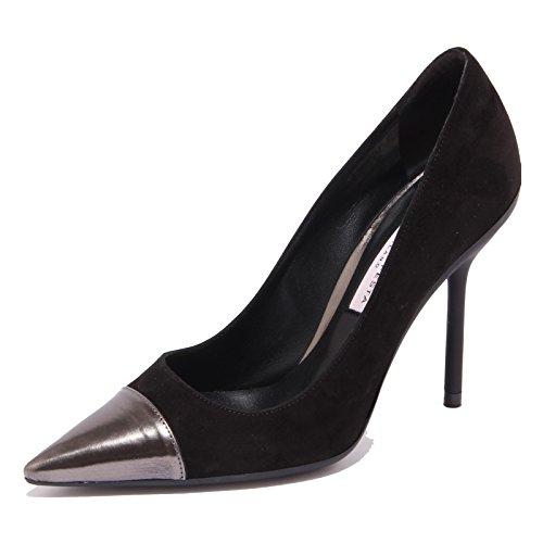 Festa Woman Roberto Nero 7903Q Nero Decollete Shoe Scarpa Suede Donna ap1pwdq