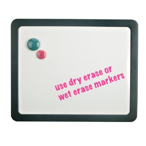 Officemate Verticalmate Magnetic Dry Erase Board, Slate Gray (29202)