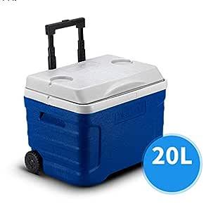 MOM Refrigerador Caja Ruedas grandes 21/42 Cuarto de galón Comida ...