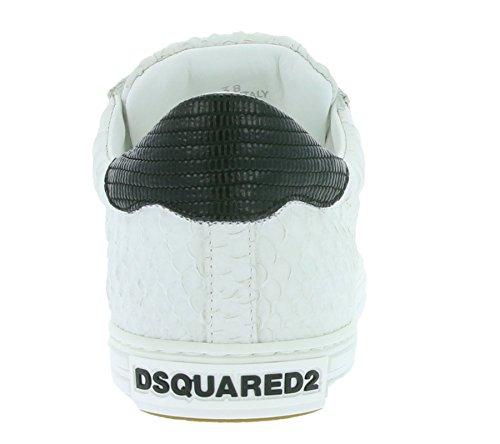 DSQUARED2 Tennis Club sneaker en cuir véritable blanc W16K204 446 M072