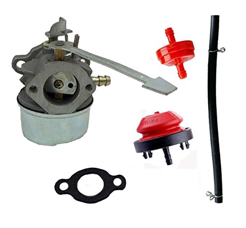 Carburetor For Tecumseh 640092A 640092 632560A TC-640092 632560 TC-640092A 632557A 632557 TC-632557 Carb Gasket (8n Carburetor Rebuild Kit compare prices)
