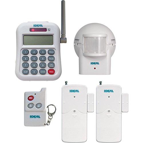 ireless Monitoring Kit Hub and Phone Dialer, Motion Sensor, 2 Contact Sensors, Remote Control ()
