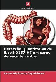 Detecção Quantitativa de E.coli O157: H7 em carne de vaca terrestre