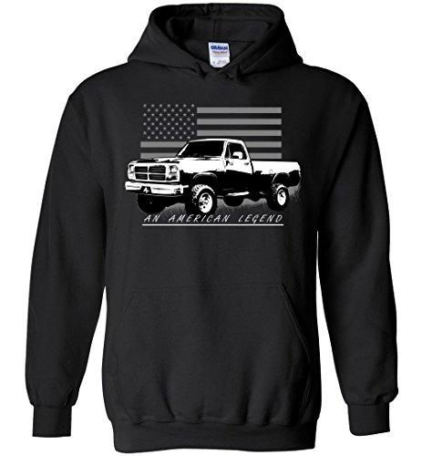 1st Gen Dodge Ram Apparel American Flag Hoodie (1st Gen Dodge)
