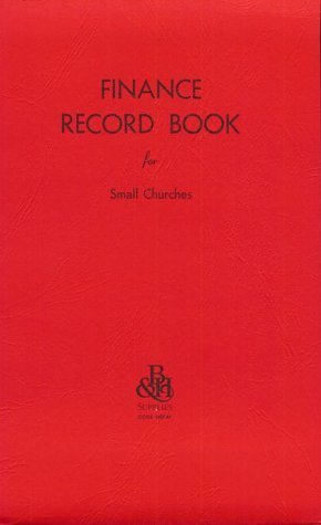 Finance-Record Book For Small Churches
