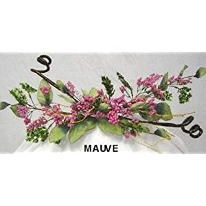 Pink Mauve Berry Swag Gazebo Arch Decor Silk Wedding Flowers Centerpieces 37
