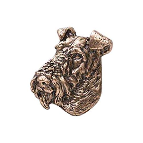 Fox Terrier fil cuivre ~ ~ Pin's (épinglette/Broche ~ dc184
