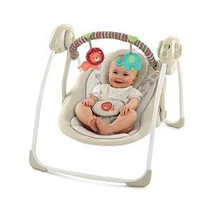 Comfort & Harmony Cozy Kingdom Portable Swing