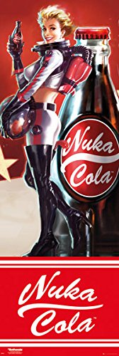 Fallout 4 - Gaming Door Poster / Print (Nuka Cola Girl) (Size: 21