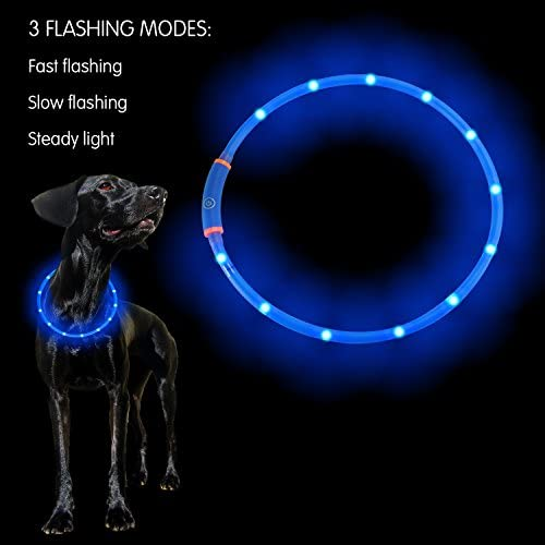 PetIsay 100 Waterproof LED Collar